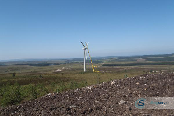Berry Burn Wind Farm Forres